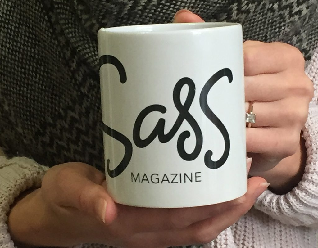 sass fix gift box mug